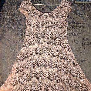 Dresses & Skirts - Pink Patterned Dress